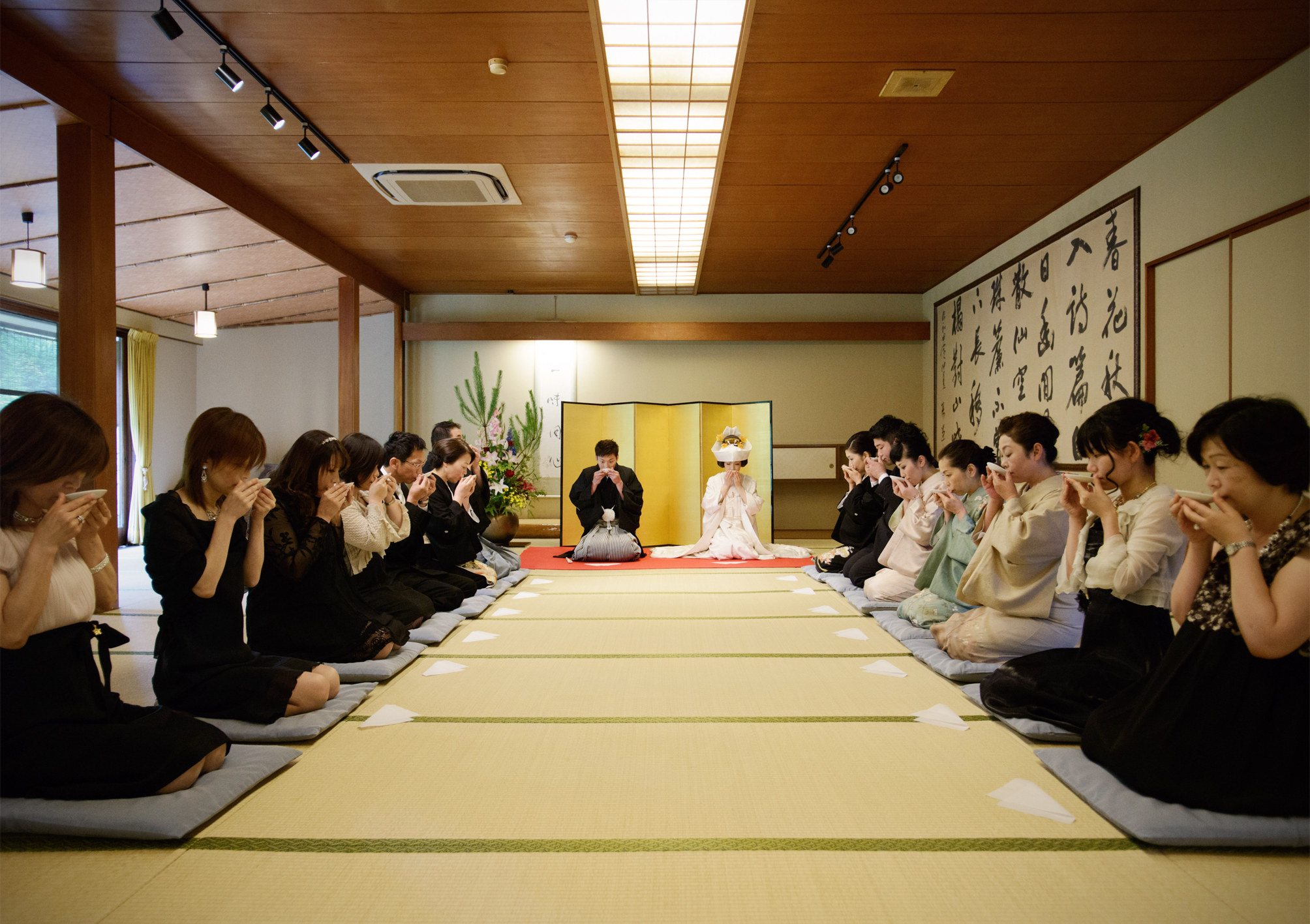 Japanses wedding