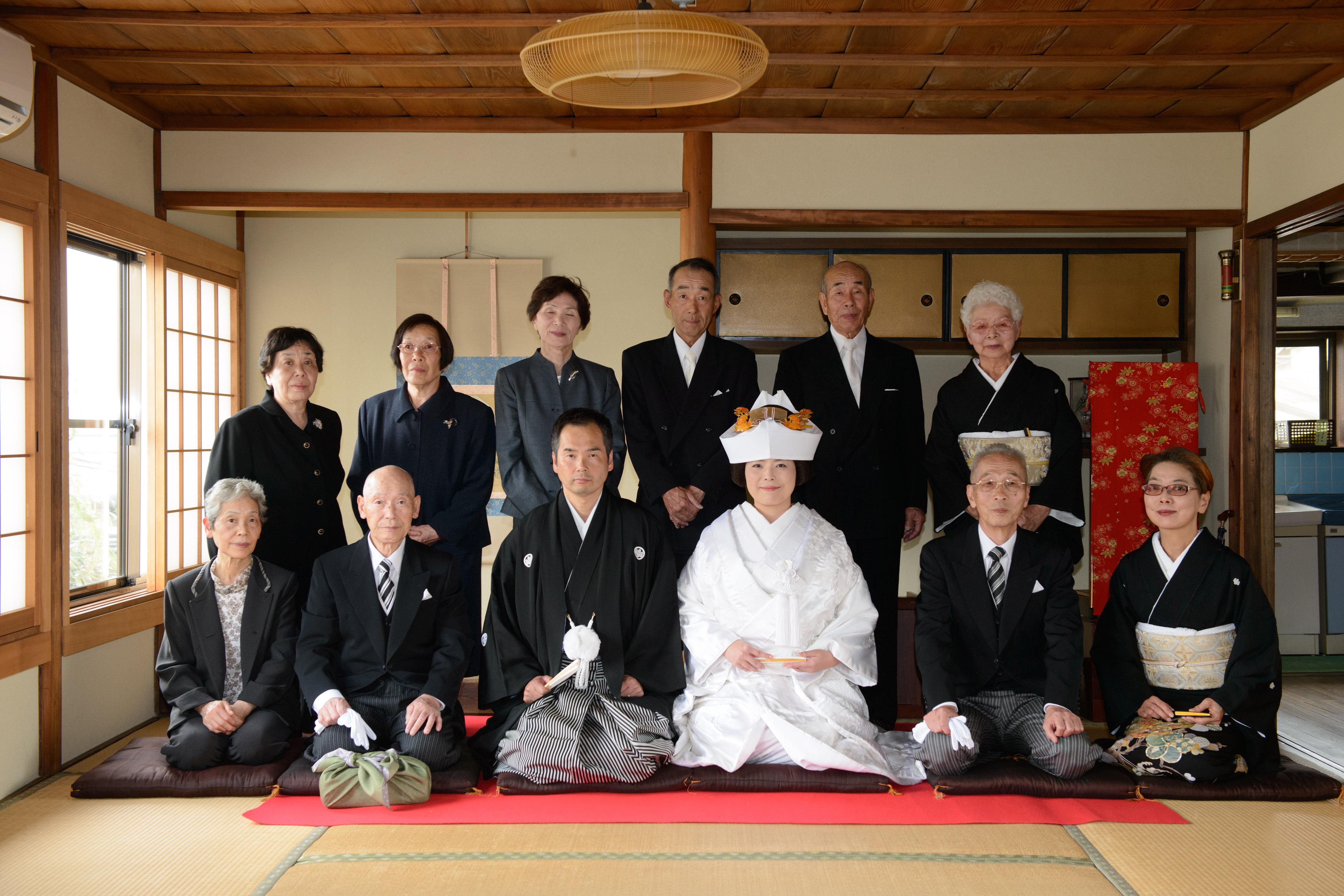 奈良で祝言
