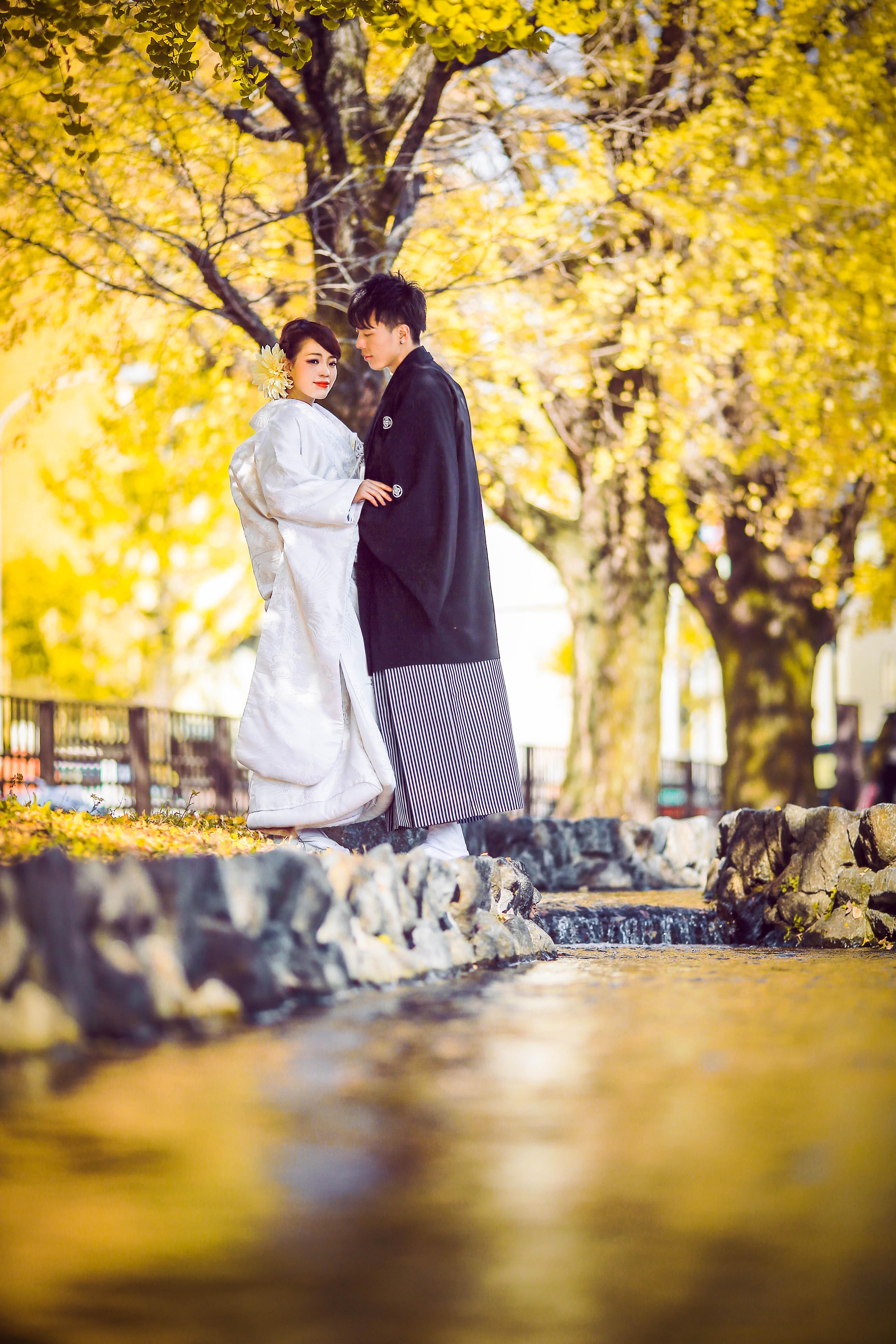 翠川で祝言(和婚)