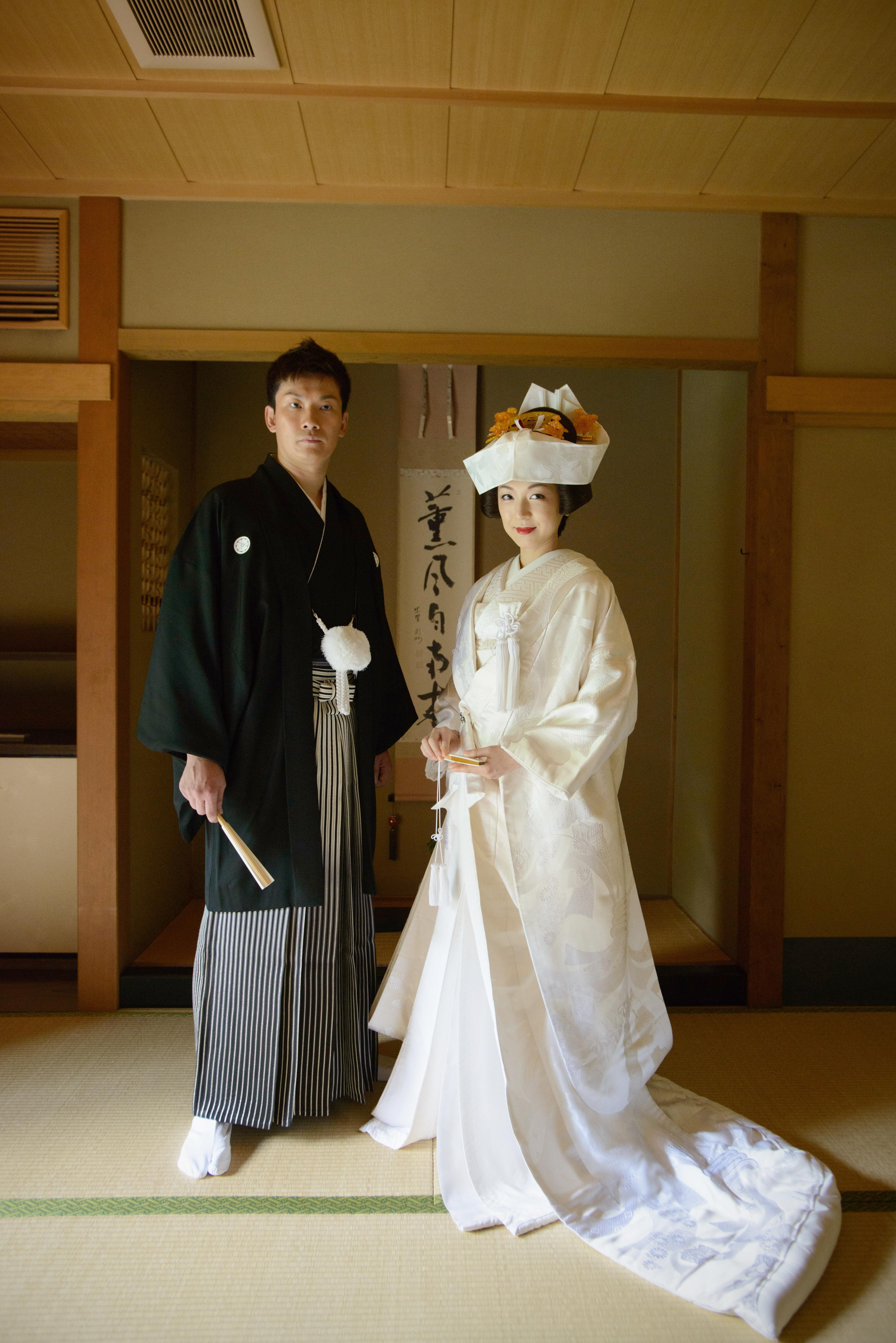 Japanses wedding style