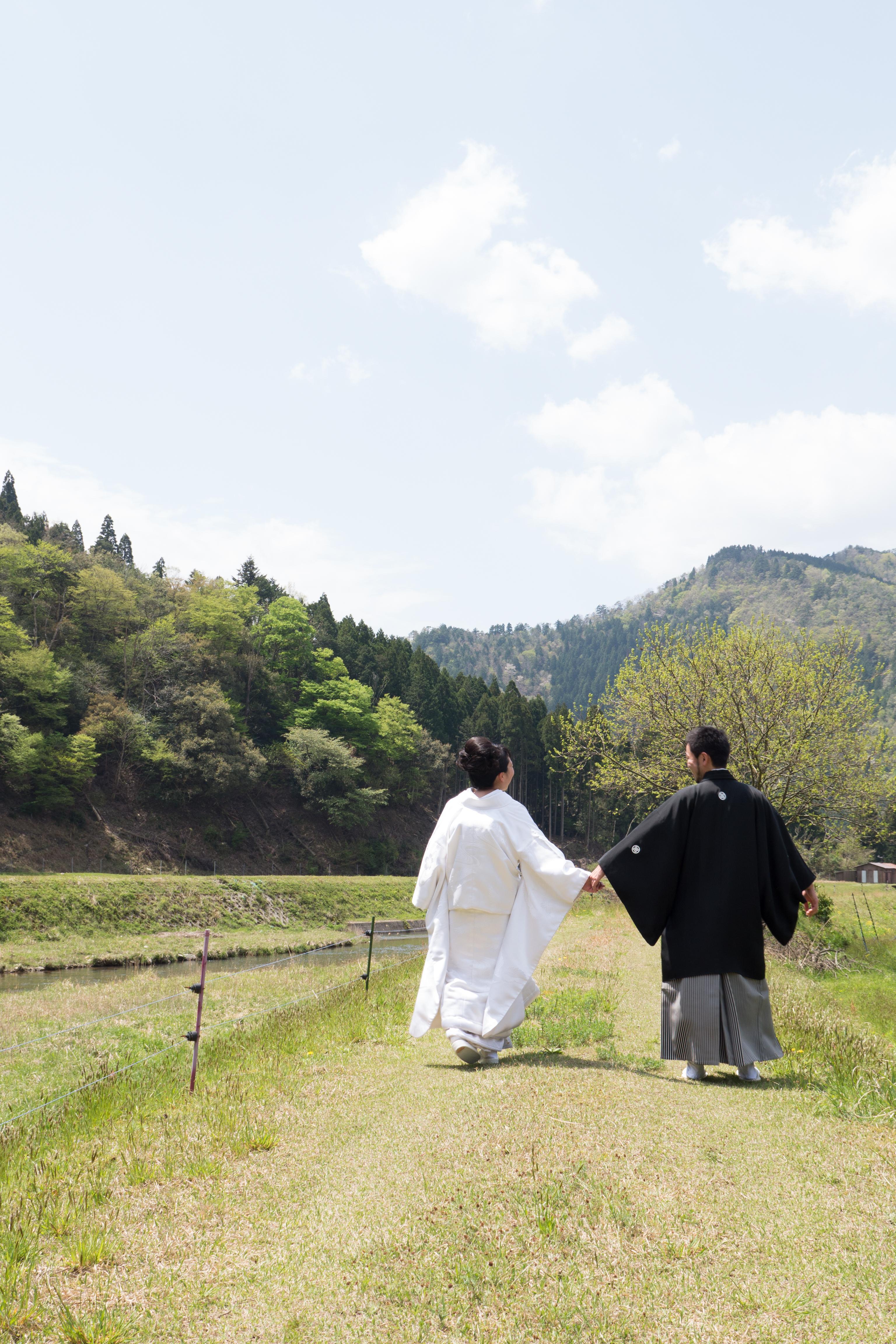 美山で結婚式