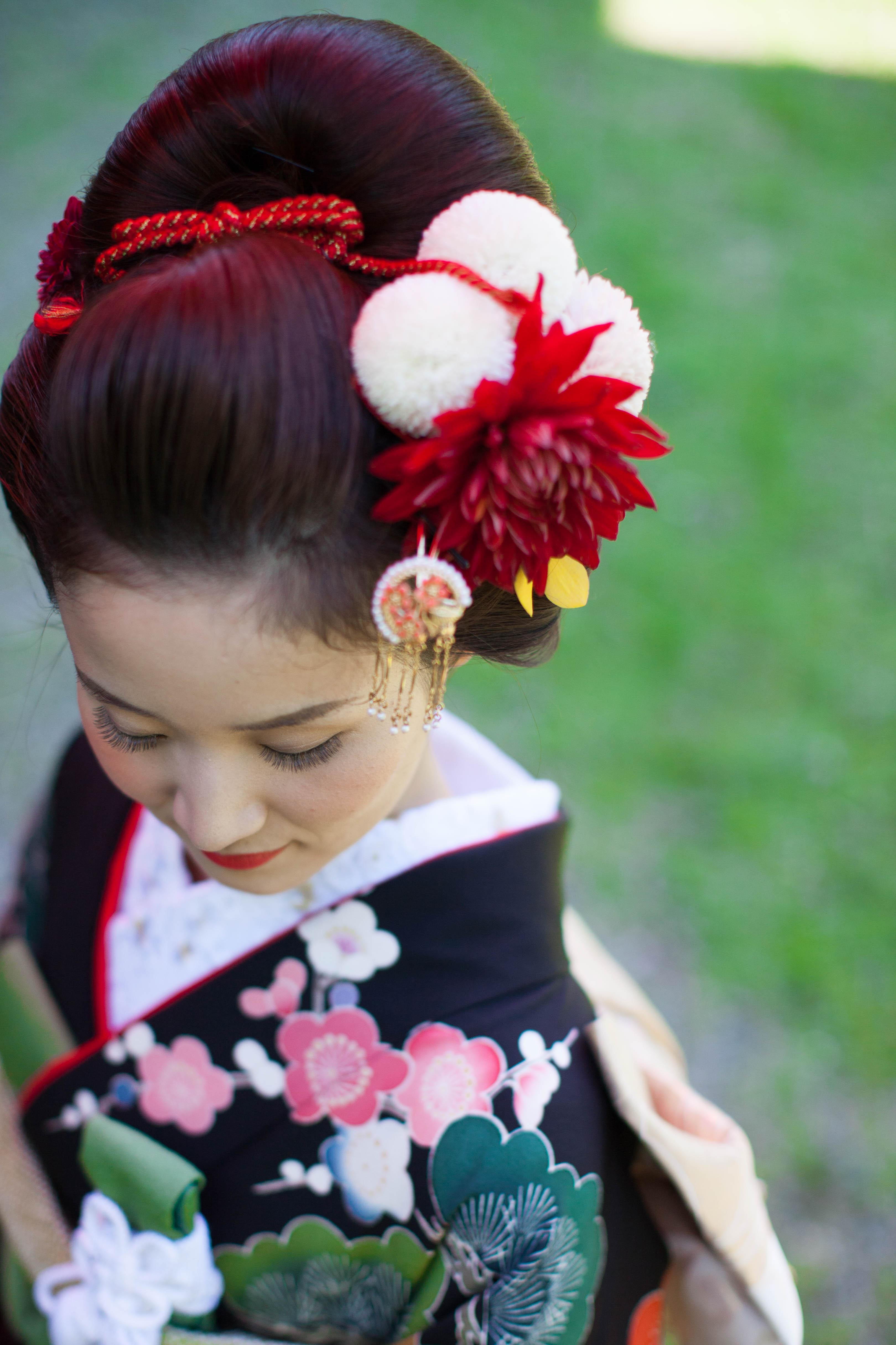 日本髪 祝言屋