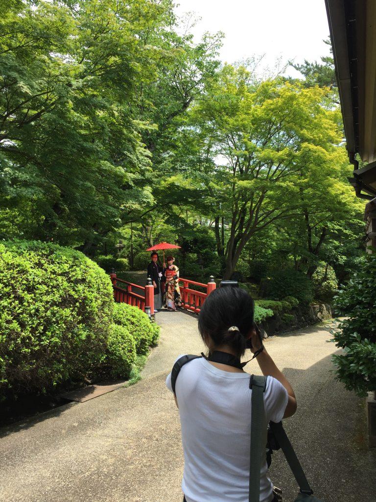 奈良百楽荘で結婚式