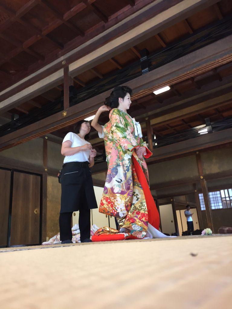 奈良文華殿結婚式