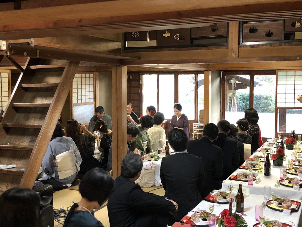 「和」に拘った結婚式