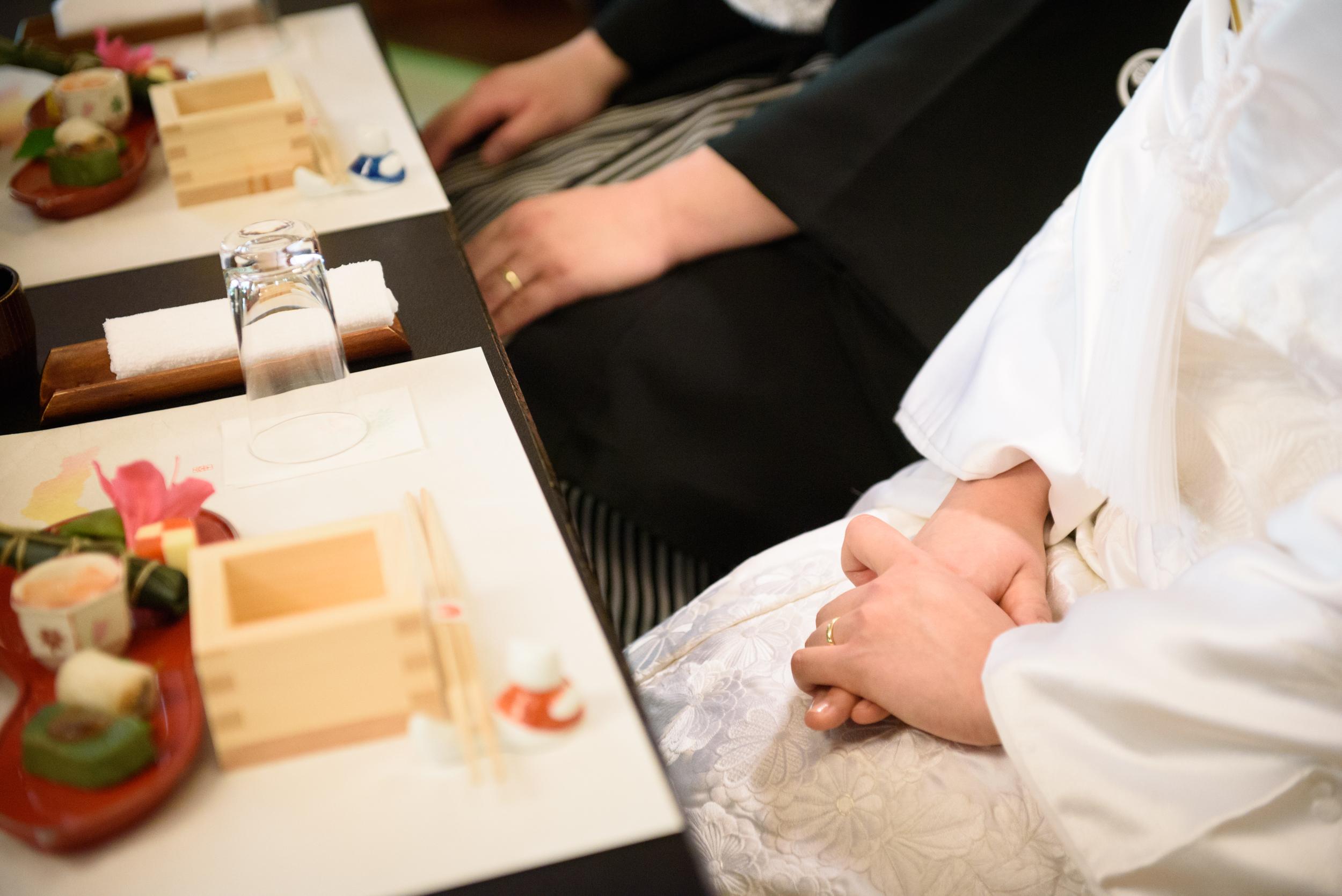 和食の結婚式