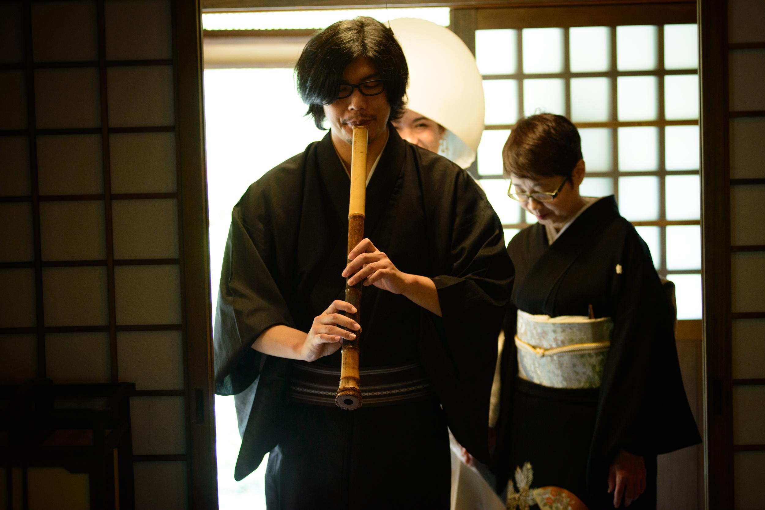旅館で挙げる和婚 大阪南天苑