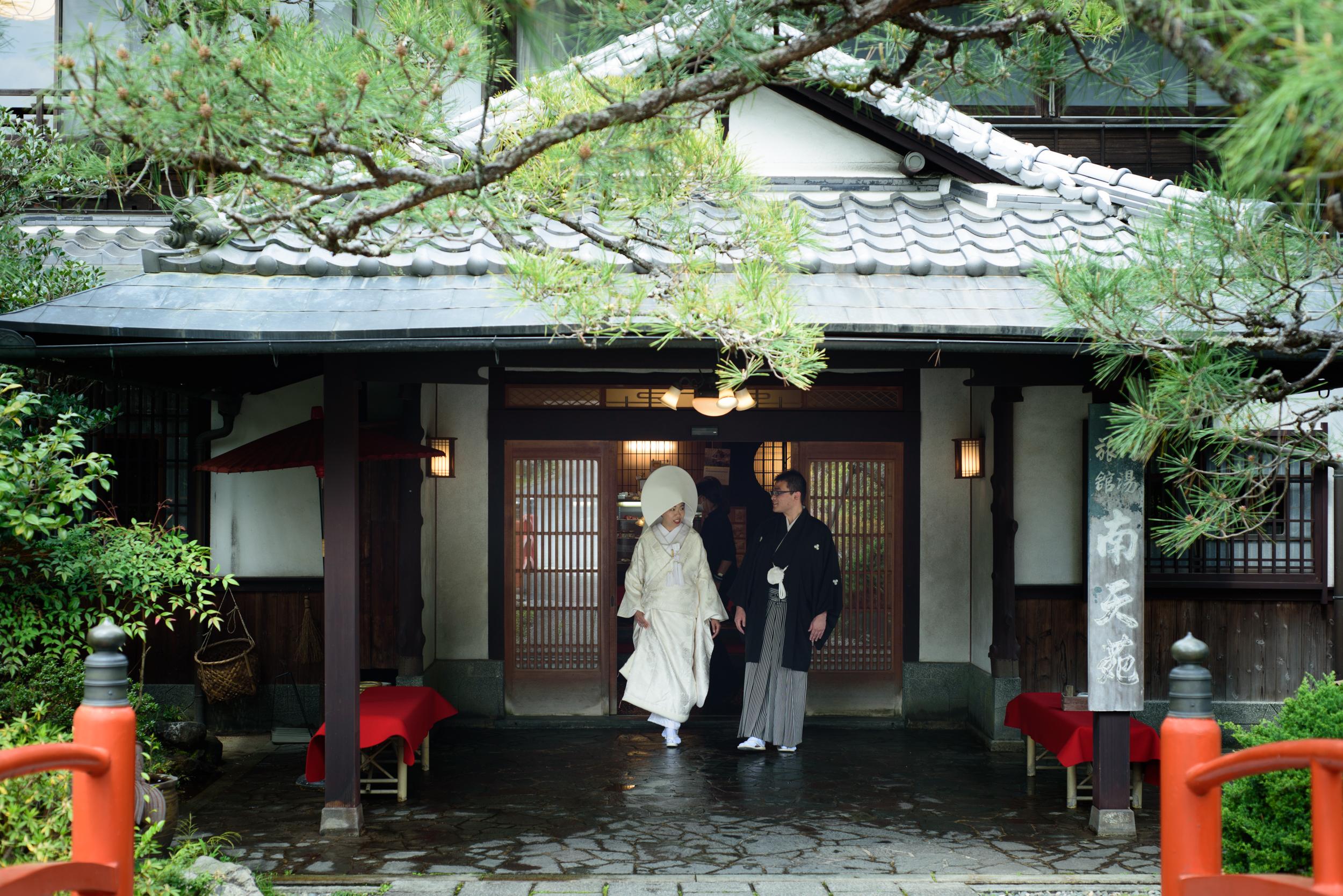 旅館結婚式 大阪