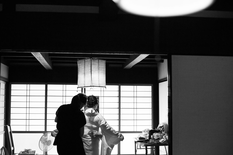 大阪和歌山奈良で自宅和装前撮り